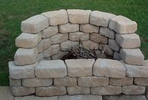 Fire pit ideas / by Becky Christensen