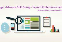 Blogger Advance SEO Setup - Search Preferences Settings