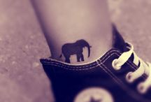Tatouage de petit éléphant