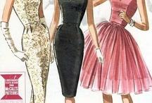 gamle kjolemønstre