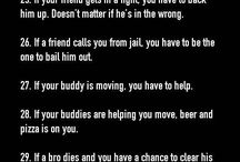 Bro code of my / To able to follow this codes  this for Nick and Charlie only