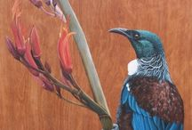 Paintings Realistic Birds