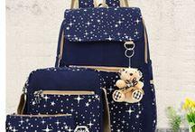 conjunto de bolsa e necessaire