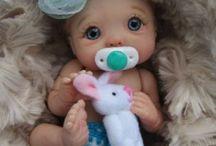 Reborn, Silicone baby dolls.