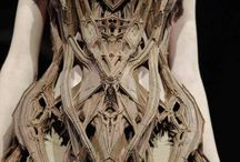 Futuristic Technological Fashion / Iris van Herpen. This is what I called Fashion Design to a whole other level.