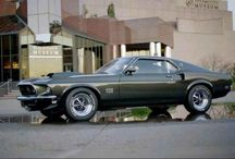Mustang boss 429 & Super Cars