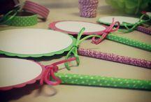 Pequeñas creaciones / Scrapbooking, envolver regalos, decoración y creatividad
