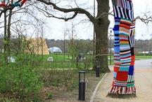 Crochet urbano y artístico - Yarn bombing