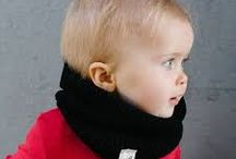 MonaLisa Mamas Kiddie Snoods / Stylish kiddie snoods to keep your little one warm during the winter.