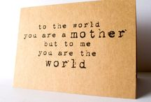 Happy Mother's Day / Sweet gift ideas to celebrate the mothers in your life.