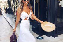 Summer vacation fashion