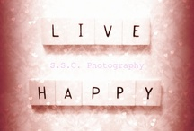 Live Happy / Love happy smile