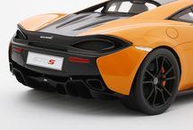 TopSpeed 1:18 McLaren 570S McLaren Orange / 1:18 McLaren McLaren 570s McLaren Orange - TopSpeed Model TS0003