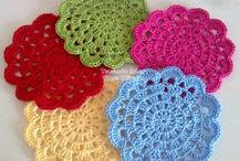 Crochet posavasos