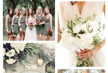Green Wedding Pallette