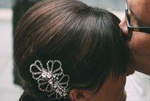 Jo Barnes Brides / Beautiful brides wearing Jo Barnes headwear...