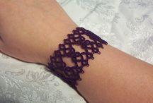 Tatting bracelet