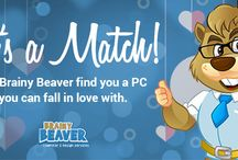 Social Media Promos / Various banners used on social media for Brainy Beaver promotions!