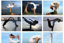 Acro and partner yoga