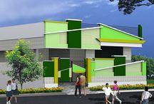 Model Buildings in SMR Green City Eluru / new Model Buildings