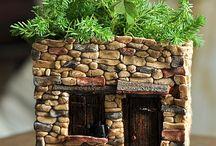 Manó kert-ház