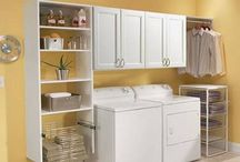 Laundry Rooms, Utility Closets, and Linen Closets / This board shows you some of the work we have done or could do for your laundry rooms, utility closets, or linen rooms in the Chattanooga Metro Area.