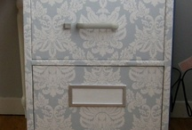 Storage ideas / Filing cabinets, storage spaces, organisation and more