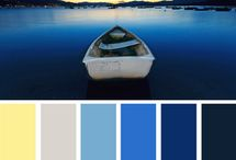 Color scheme boats