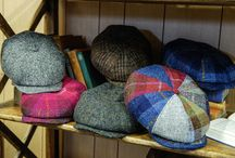 Herald and Heart Caps / Herald and Heart tweed and leather caps