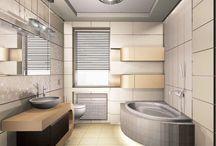 Projekty łazienek / Aranżacje łazienek