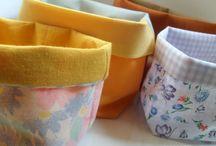 cestini di stoffa