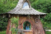 Casette / Casette o case nel bosco