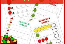Preschool apples