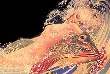 Illustrations, Myths  & Fairy Tales