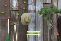 outdoor plain wall embellishment