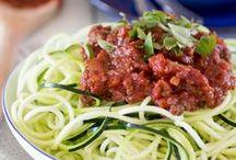 courgette wortel spaghetti