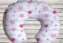Nursing Pillows and Pillow covers / Personalized Nursery Pillows, Breastfeeding Pillows, Tummy Time Pillows, Baby Pillows and Pillow Covers!