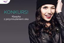 KONKURS KLASYKA Z PRZYMRUŻENIEM OKA / stylizacje konkursowe #LooksusLashes #eyelashes #redlips