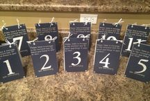 Table Numbers / by NY Wedding Planner - Caitlin Russotti