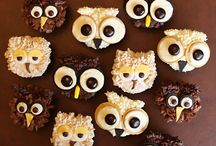Owl cupcakes / by Emily Downing Ponce