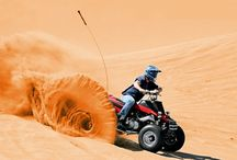 Dune Buggy Safari / Brave to hit the sand and dunes of Dubai. A Dune Buggy Safari is a thrilling, adrenaline-filled adventure and a must do in Dubai. The fun begins as you head off on a thrilling drive through sand dunes; it's like a roller coaster voyage.