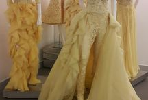 And it was all yellow... Our set up in #AbedMahfouz showroom in Downtown