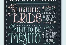 Bar menu design