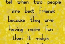 best friends :) / by DeLora Parente