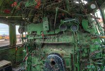 meccaniche abbandonate