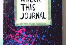 wreck this journal / To create is to destroy