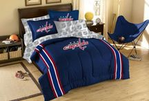NHL Bedding / Our NHL inspired bedding sets.