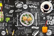 Menu Lists Displays DIY in Cafeteria Sonrisa / Cafeteria Sonrisa Photos