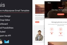 Email Templates / Great responsive email template with editor
