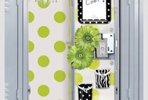 Locker looks / Cute locker ideas.